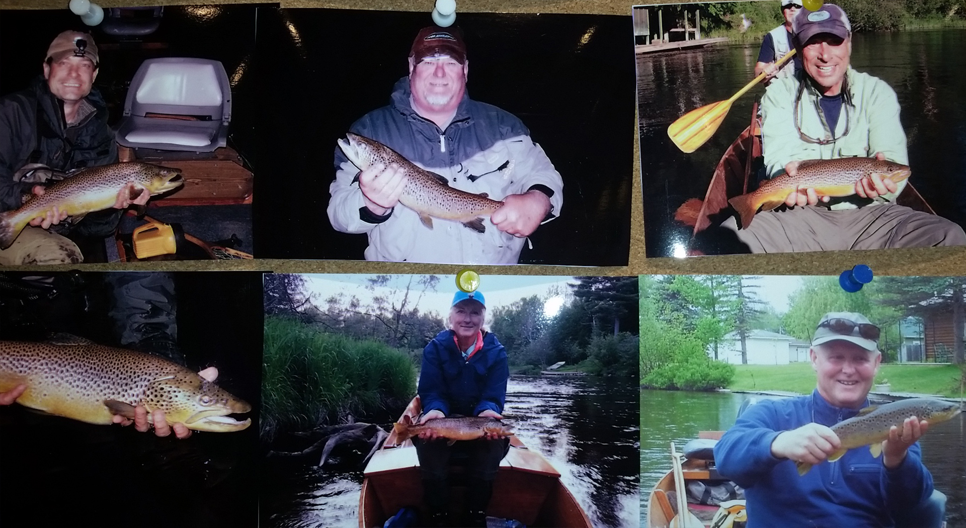 Ron's Fly Shop Wall of Fame