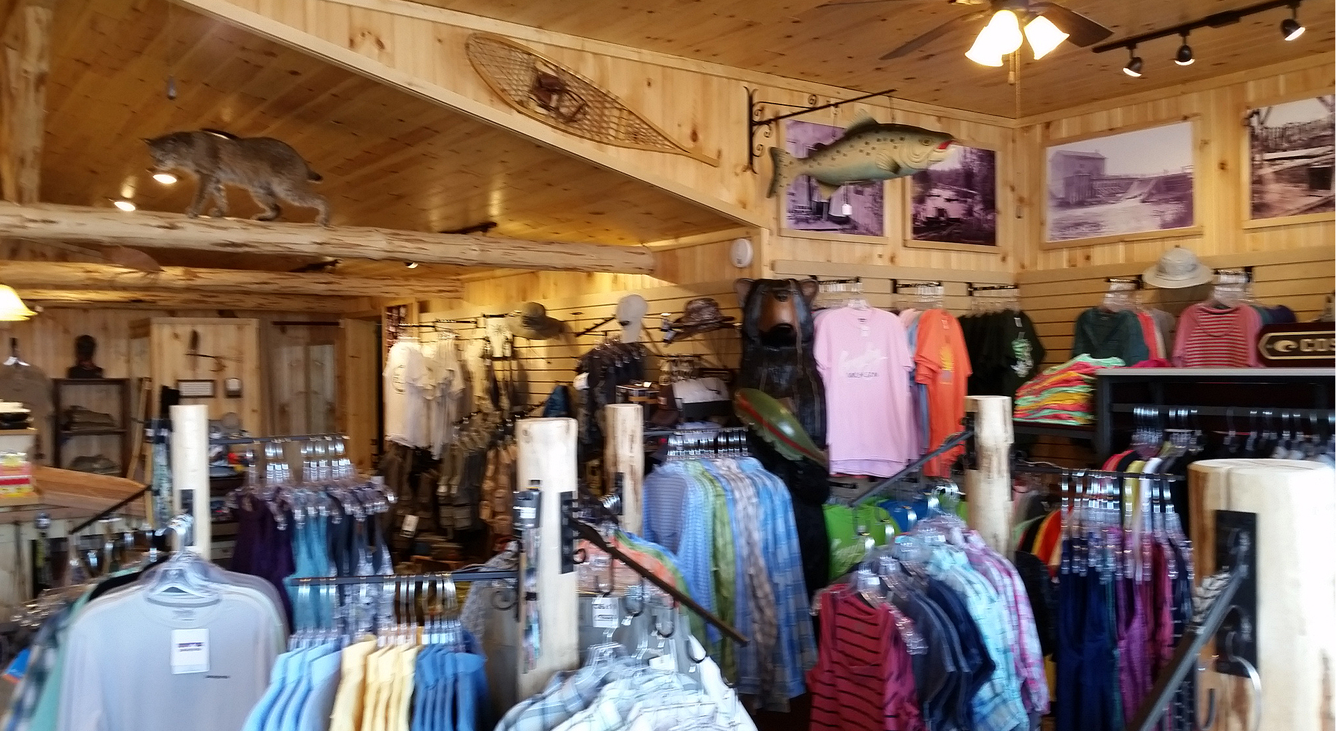 Ron's Fly Shop Interior