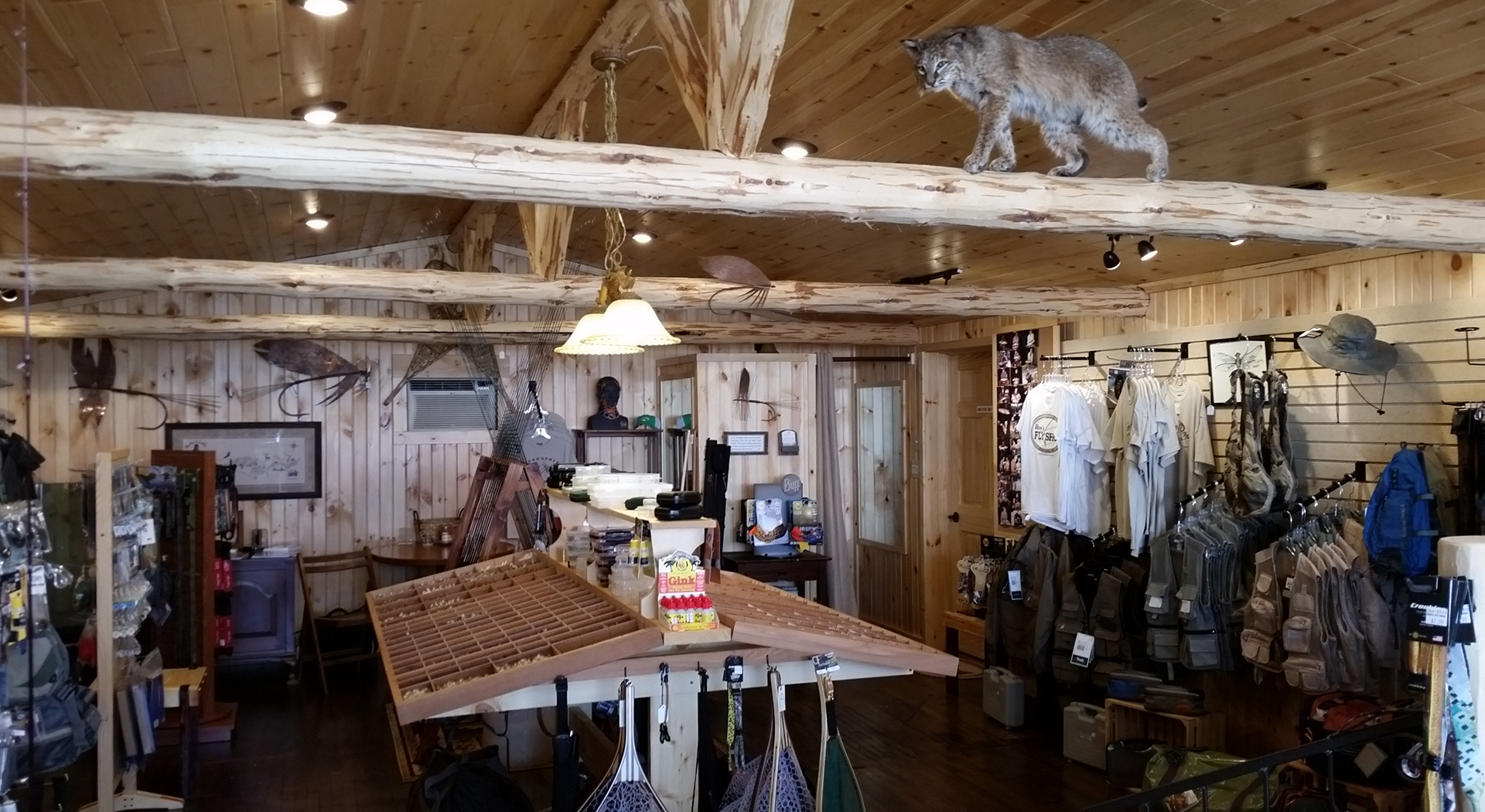 Ron's Fly Shop Interior