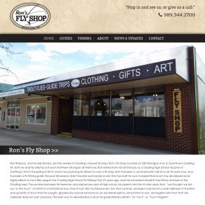 Ron's Fly Shop Launches Website
